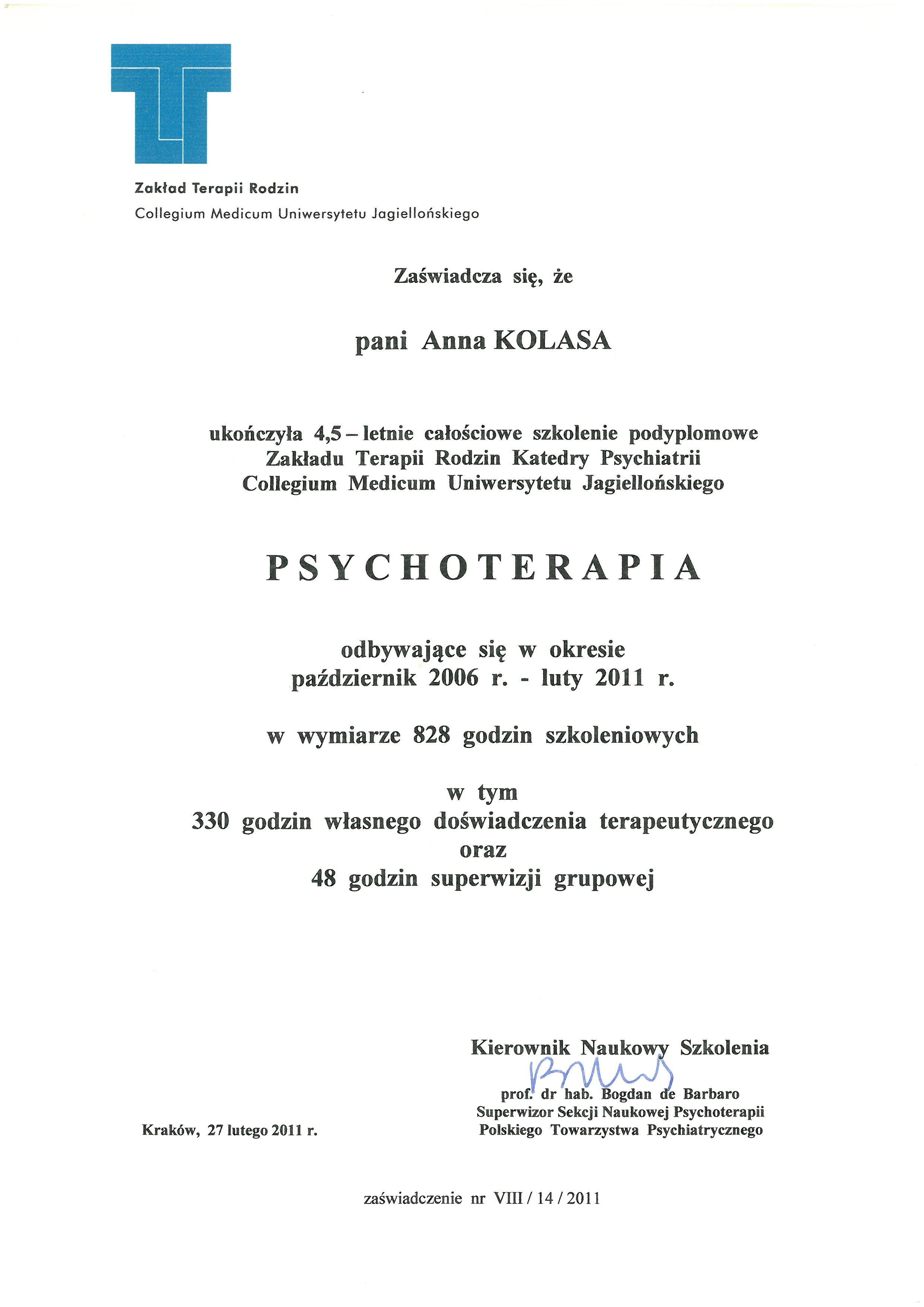 Psychoterpia #1a